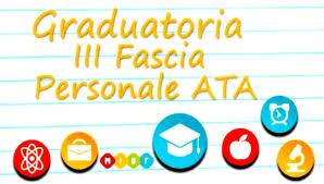 Procedura di inserimento/aggiornamento della terza fascia delle graduatorie di circolo e di  Istituto ATA -Triennio scolastico 2021-2024: Proposta date